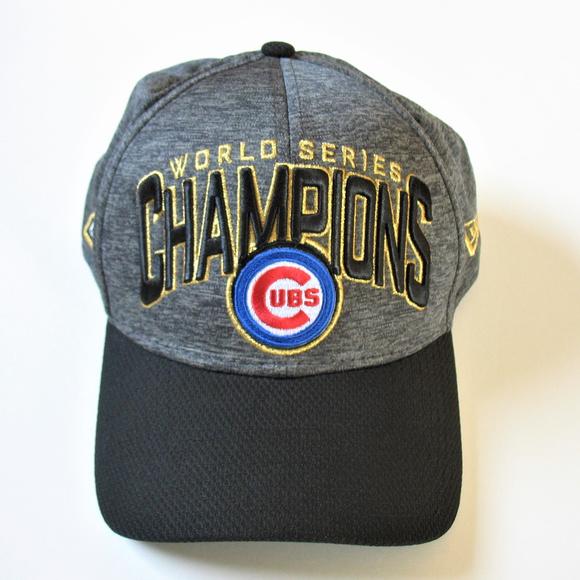 7af267eab0e Chicago Cubs World Series Champions Baseball Cap. M 5b5dd81f1b3294f6d40f5dbb